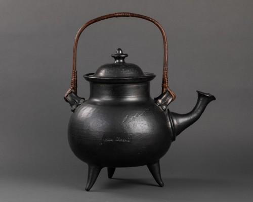 Important ceramic teapot signed Jean Marais (1913 - 1998) - 50