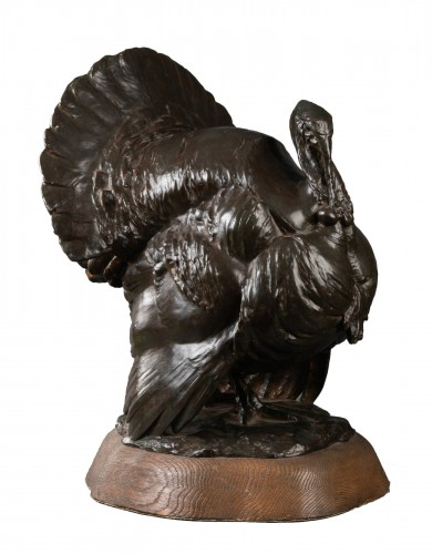 Bronze Turkey - Johannes Knubel (1877 - 1949)