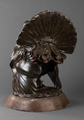 Bronze Turkey - Johannes Knubel (1877 - 1949) -