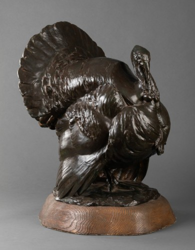 Art nouveau - Bronze Turkey - Johannes Knubel (1877 - 1949)