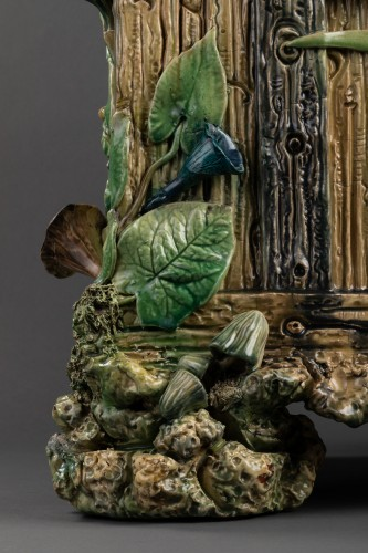 Ceramic planter - Thomas Victor Sergent - Art nouveau
