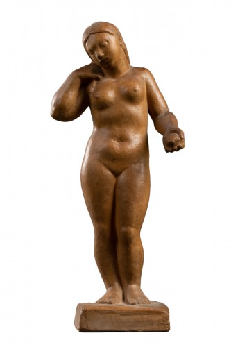 Nude, terracotta - F. Altimir