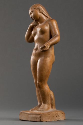 Sculpture  - Nude, terracotta - F. Altimir