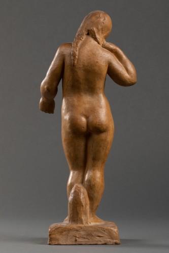 Nude, terracotta - F. Altimir -