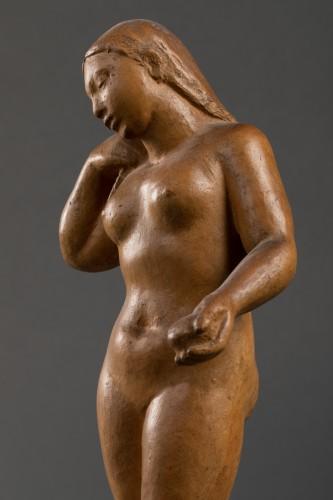 Nude, terracotta - F. Altimir - Art Déco