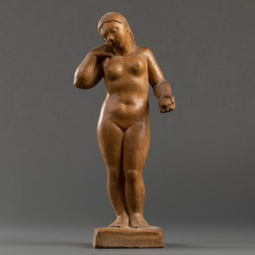 Art Déco - Nude, terracotta - F. Altimir