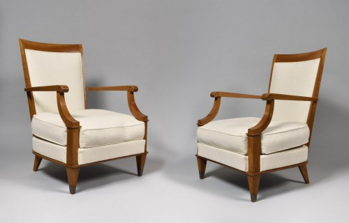 Pair of armchairs - André ARBUS (1903-1969) - Seating Style Art Déco