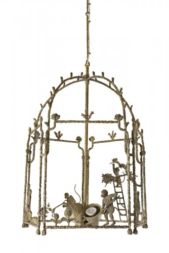 Louis Cane's large lantern chandelier