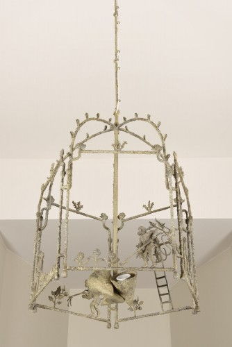 Louis Cane's large lantern chandelier - Lighting Style 50