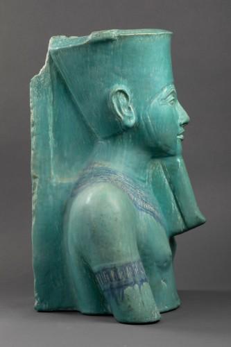 Sculpture  - Toutankhamon bust - Emile Muller (1823 - 1889)