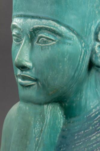 Toutankhamon bust - Emile Muller (1823 - 1889) -