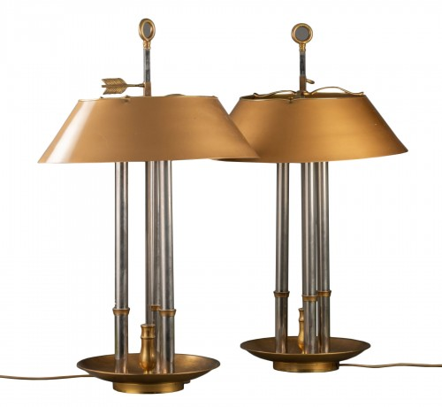 Pair of library lamp - Maison Baguèes