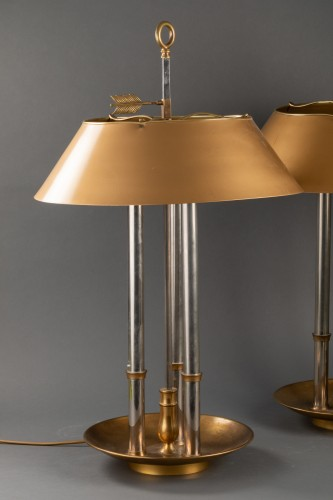 Pair of library lamp - Maison Baguèes -