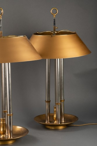 Pair of library lamp - Maison Baguèes - 50