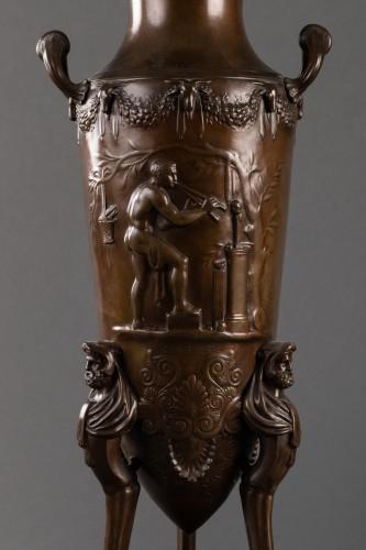 Pair of candelabras - Ferdinand LEVILLAIN et Ferdinand BARBEDIENNE  - Napoléon III