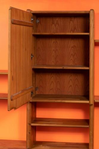 """20th century - Bookcase """" GO """" -  Pierre CHAPO (1927-1987)"""