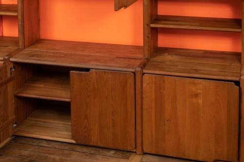 """Bookcase """" GO """" -  Pierre CHAPO (1927-1987) - 50"""