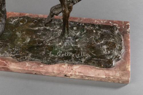Sculpture  - Ostrich in bronze - Ennio Pettenello (1912-1996)