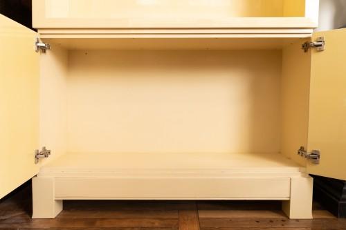 "Furniture  - Pair of showcase furniture, ""Vasarely"" Emiel VERANNEMAN"