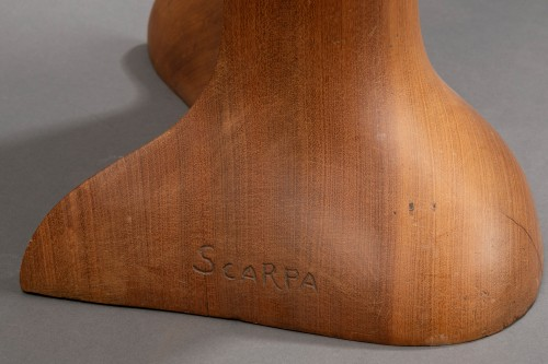 "20th century - ""Gitane""  Sculpture in wood from Africa - Ricardo Scarpa (1905 - 1999)"