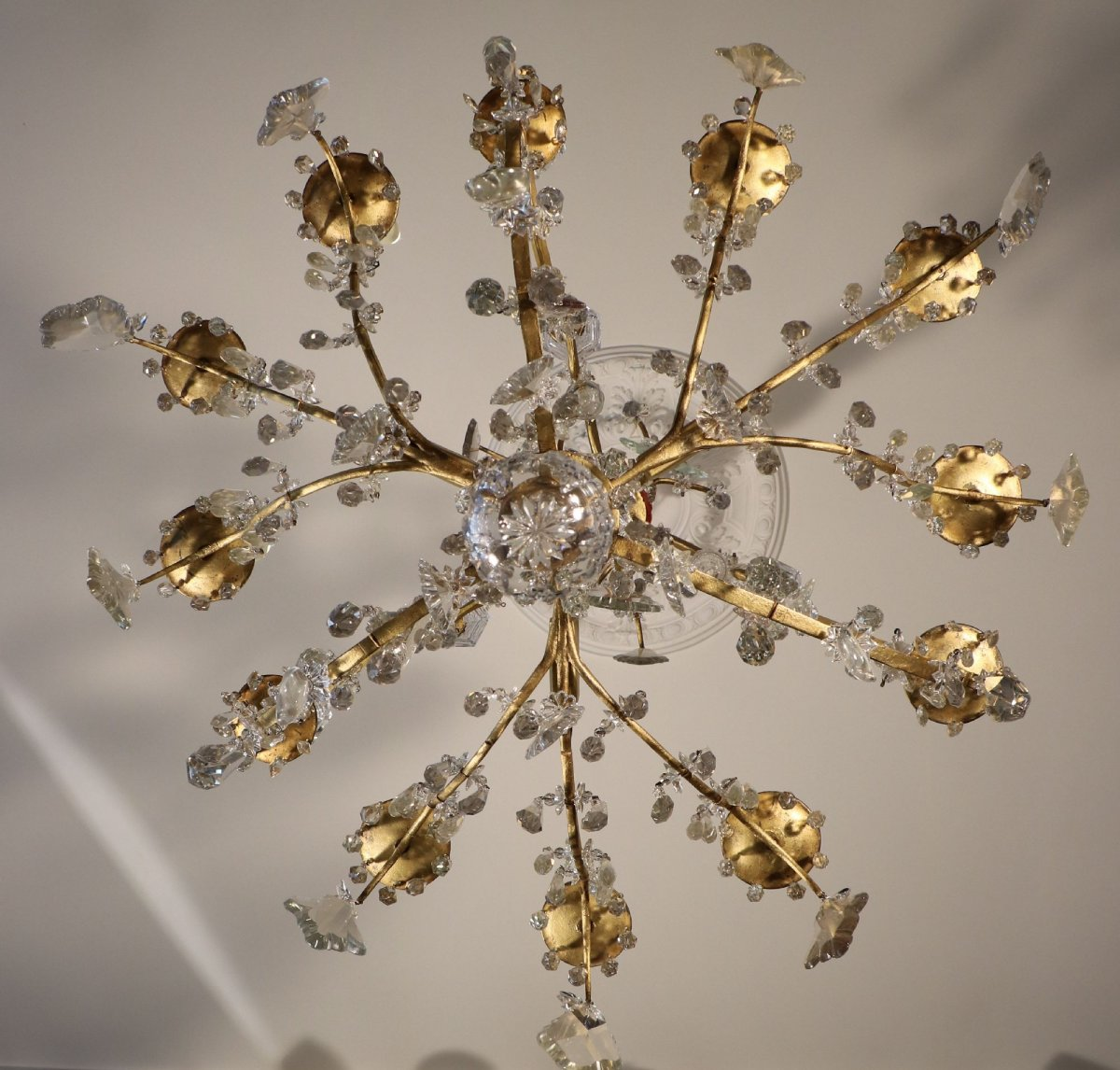 Louis Xv Crystal Chandelier Ref 51654