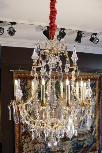 Louis XV Crystal chandelier