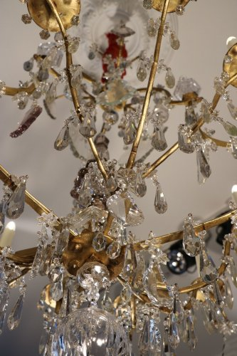 Lighting  - Louis XV Crystal chandelier