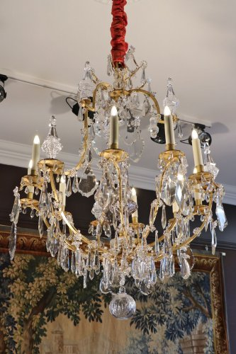 18th century - Louis XV Crystal chandelier