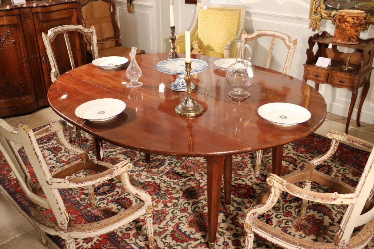 Table De Salle Manger Poque Louis Xvi Xviiie Si Cle