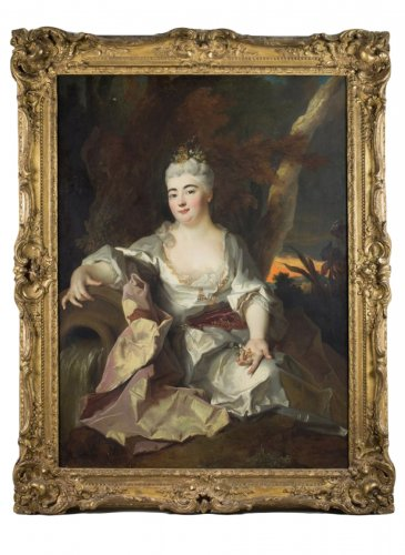 Princesse Palatine, Nicolas de Largillière, oil on canvas, circa 1690-1700
