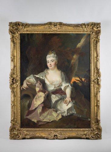 Louis XIV - Princesse Palatine - Nicolas de Largillière and workshop, circa 1690-1700