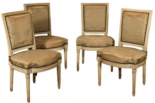 Suite de quatre chaises de Georges Jacob