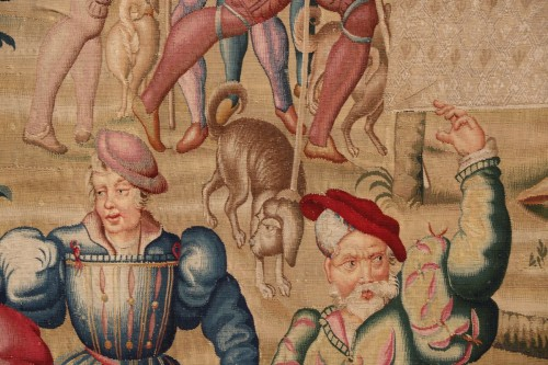 Louis XIV - Tapestry of the Manufacture Royale des Gobelins commissioned by Louis XIV