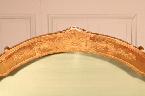 """Set of four """"à la Reine"""" armchairs stamped Tilliard - Louis XV"""