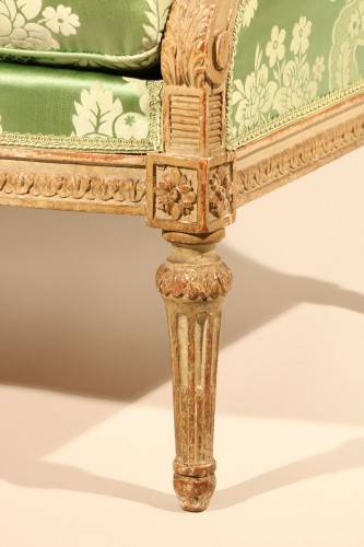 Seating  - Bergère à oreille stamped Georges Jacob