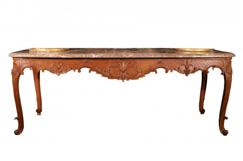 Large Louis XV console table