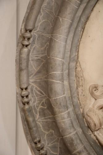 Medallion representing Louis XIV in profile -