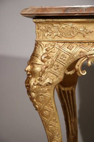 Louis XIV - An exceptional console from the Louis XIV period