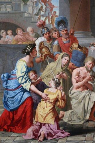 17th century - Michel ii corneille (1642-1708)-le baptême du centurion corneille par saint pierre