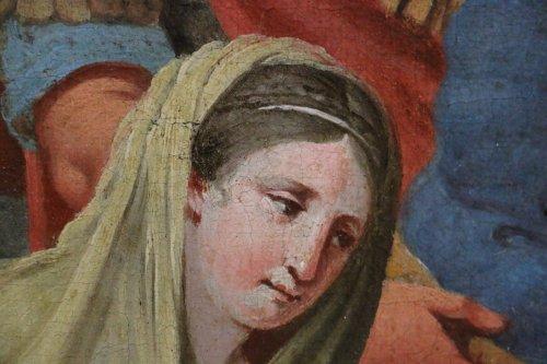 Antiquités - Michel ii corneille (1642-1708)-le baptême du centurion corneille par saint pierre