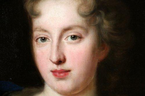 François de troy (1645-1730) atelier-dame de qualité-xviiè -