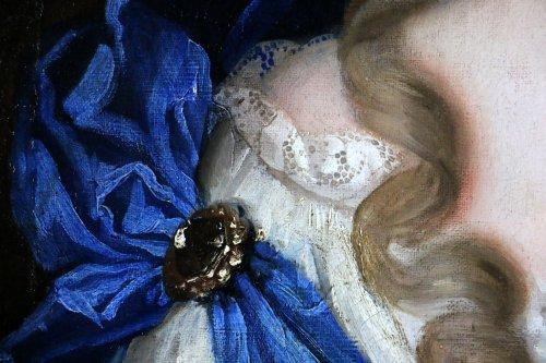 François de troy (1645-1730) atelier-dame de qualité-xviiè - Louis XIV