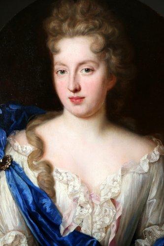 Antiquités - François de troy (1645-1730) atelier-dame de qualité-xviiè