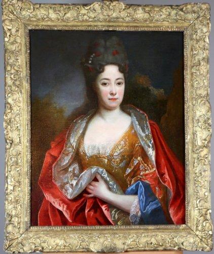 Lady's portrait circa 1695, nicolas de largillierre worksop