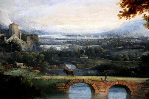 - Of Chichester George Smith (1714-1776) landscpae painitng