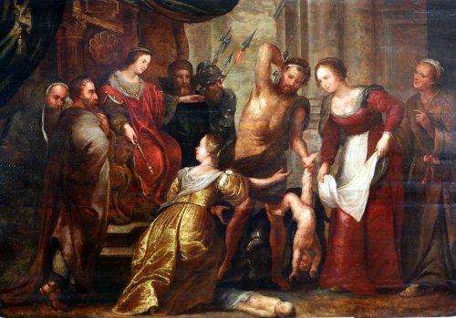 Flemish School Seventeenth Century, Follower Of Peter Paul Rubens (1577-164
