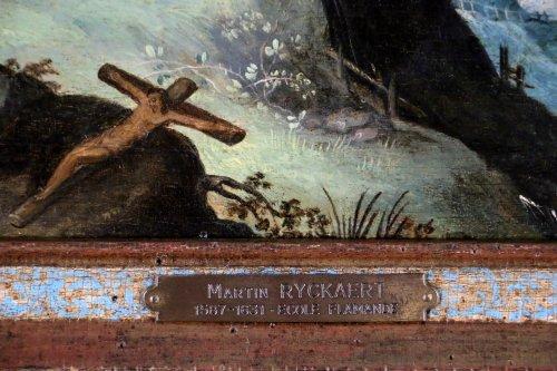Flemish School of the early seventeenth century workshop of Martin Ryckaer -