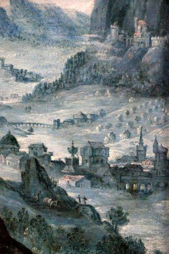 Flemish School of the early seventeenth century workshop of Martin Ryckaer - Louis XIII