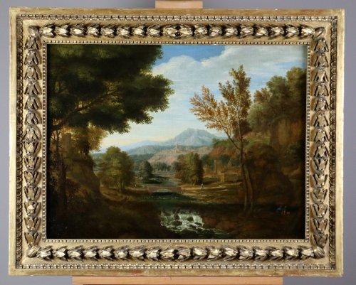 Dutch School Seventeenth Century, attributed to Johannes Glauber (1646-172 - Paintings & Drawings Style