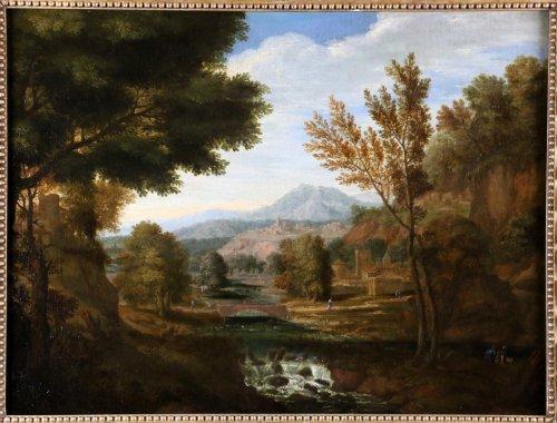 Dutch School Seventeenth Century, attributed to Johannes Glauber (1646-172 -